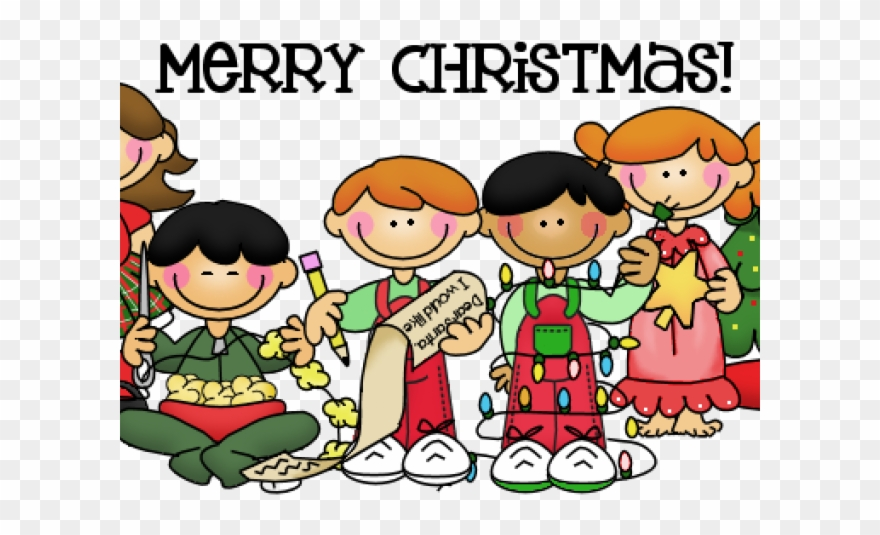 Christmas Party Images Clip Art.Merry Christmas Clipart Church Children S Christmas Party