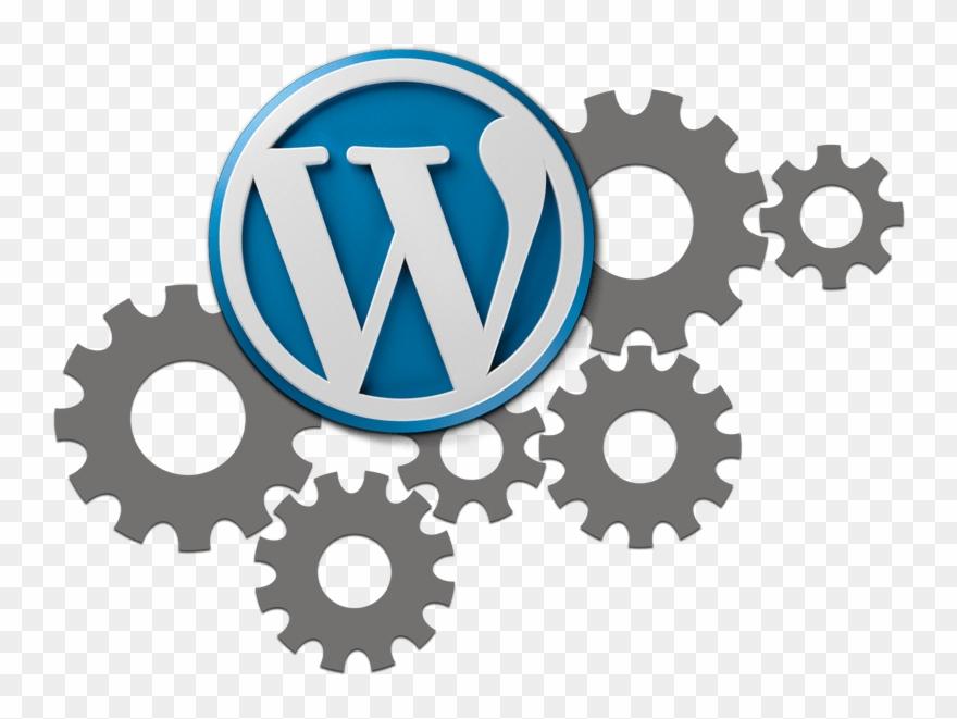 Wordpress Development & Maintenance - Clipart Gears - Png Do
