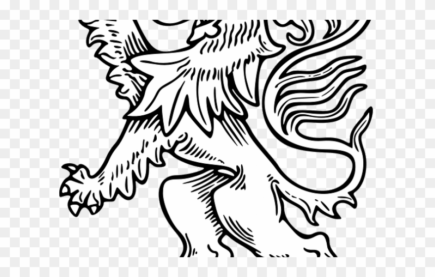 White Lion Clipart Lion Outline Png Download 340153 Pinclipart Lion images drawing for kids. white lion clipart lion outline png