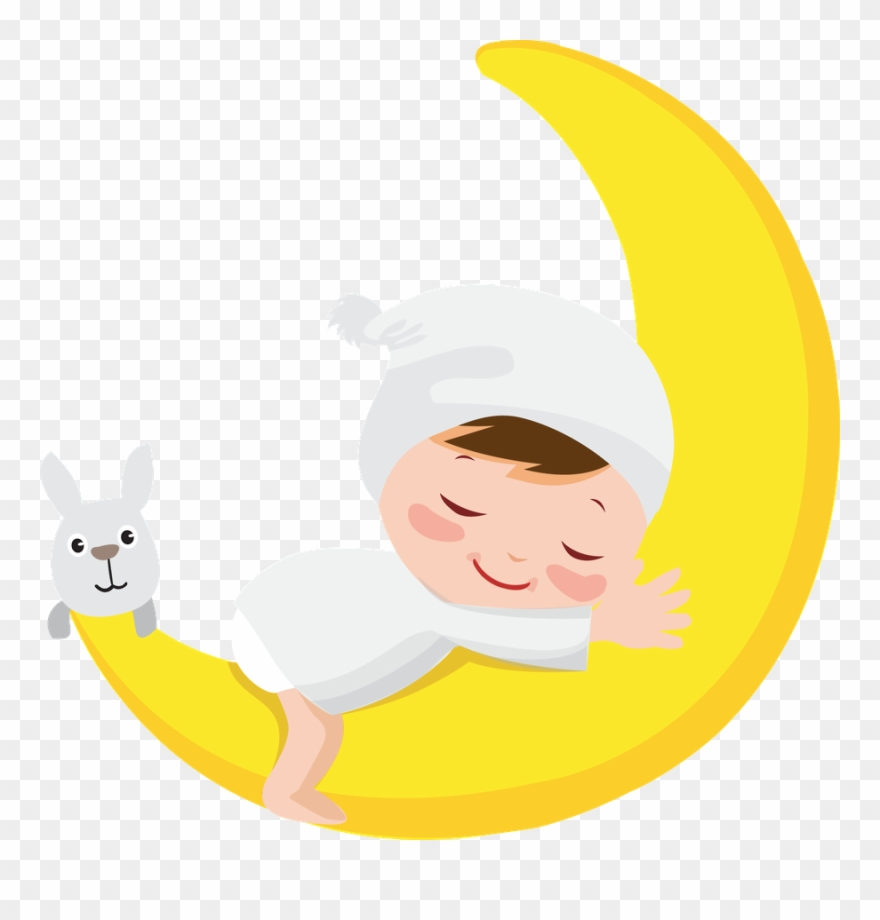 Moon ‿ ⁀ Good Night Baby, Baby Clip Art - Infant - Png ...