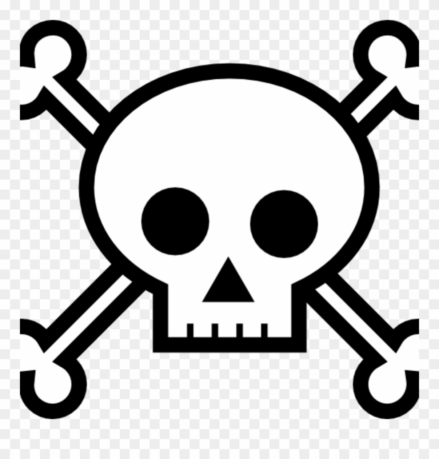 Download Skull And Crossbones For Pirates Clipart Skull Skull And