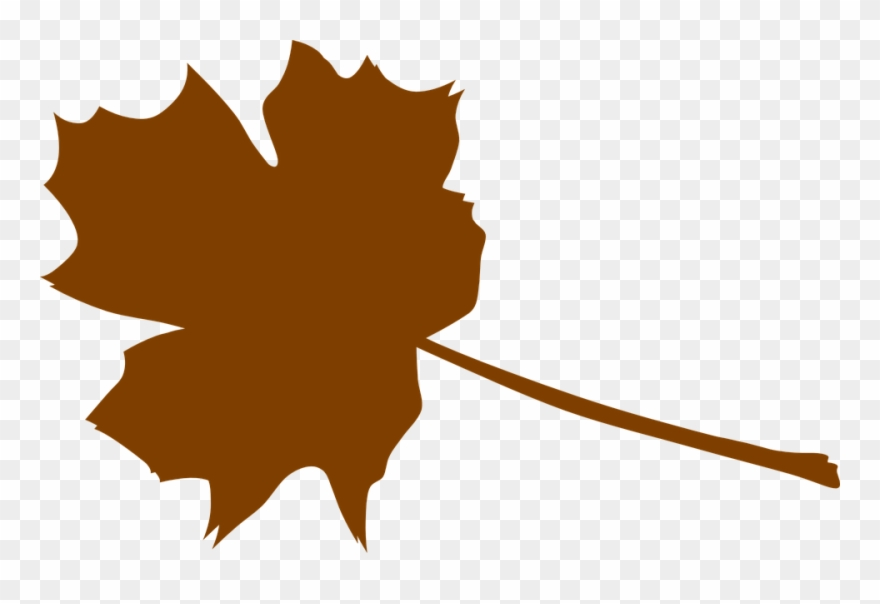 Leaf brown. Foliage clipart leaves clip