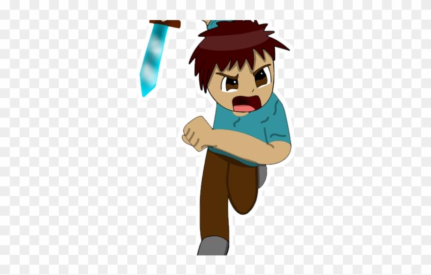 Minecraft Clipart Minecraft Steve Cartoon Png Download