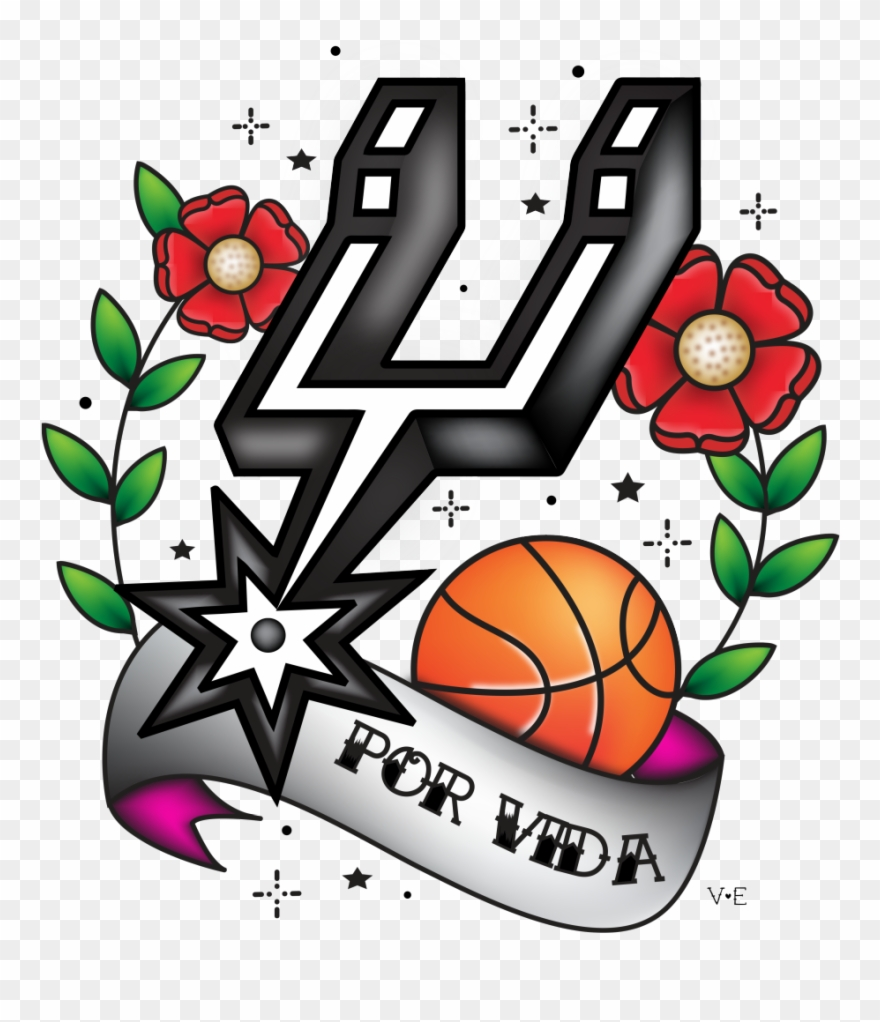factory price 4bf0a 44ca4 Vaerrto San Antonio Spurs Old School Kids Rh Threadless ...
