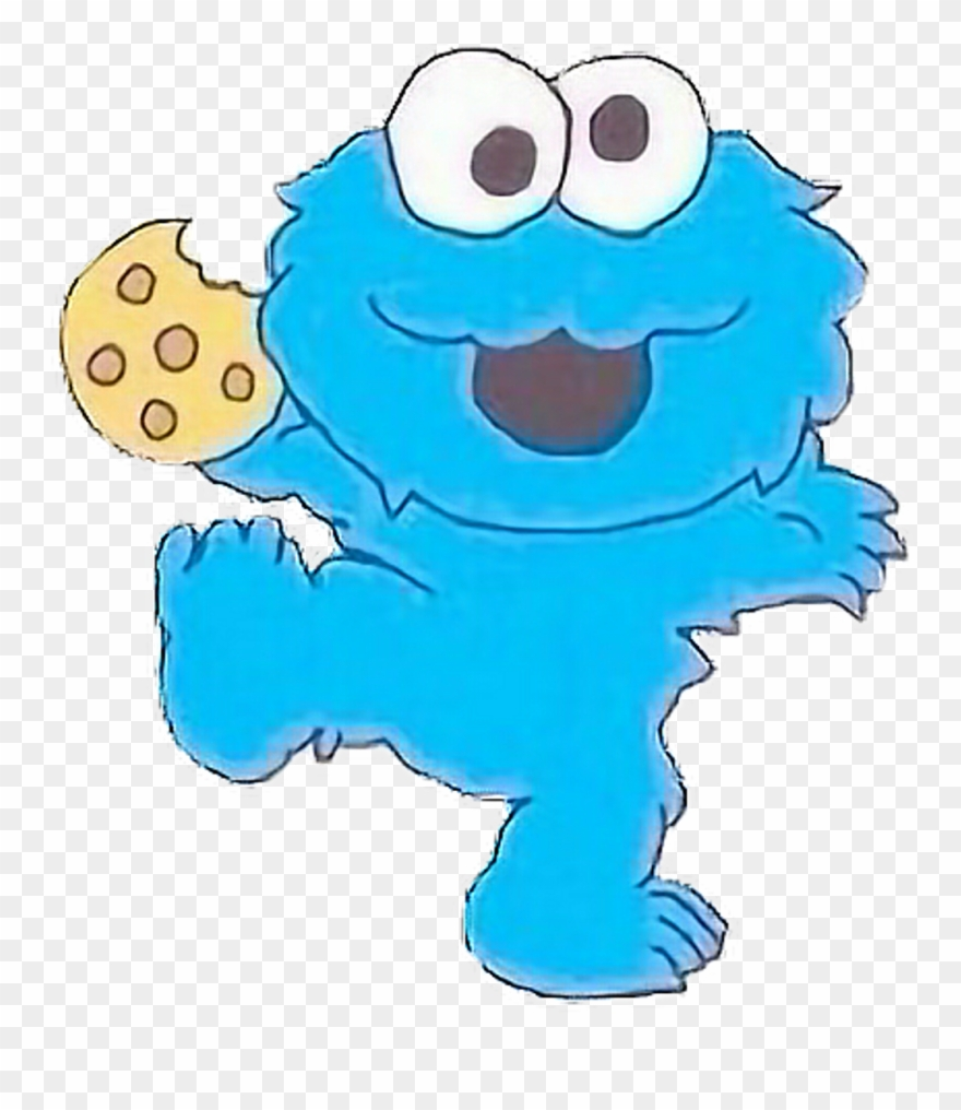 Cookiemonster Cookies Cartoon Tumblr Pastel Cute Freeto