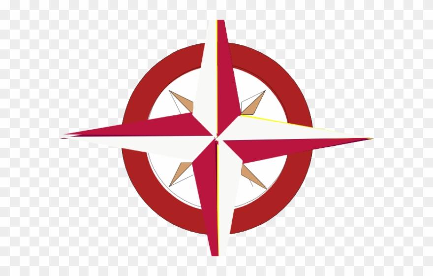Compass Clipart Red Dibujos De La Rosa De Los Vientos Para
