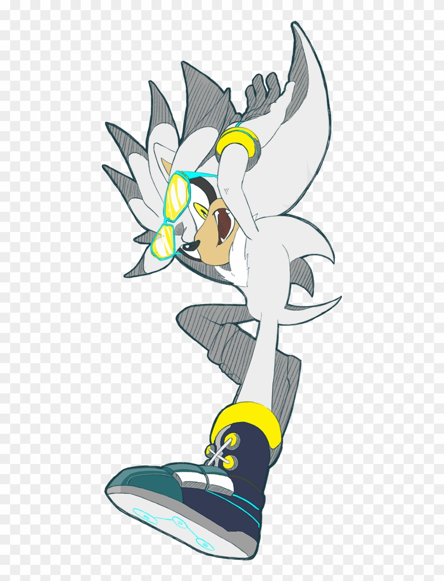 dc71c73fe Riders Silver Chellchell Gaming Pinterest Hedgehogs - Sonic Riders Clipart