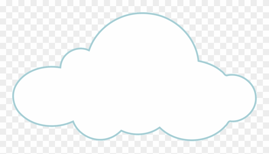Cloud vector. White weather png clipart