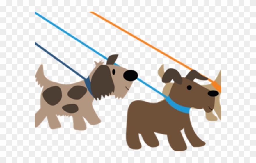Dog walking. Pet clipart walker clip
