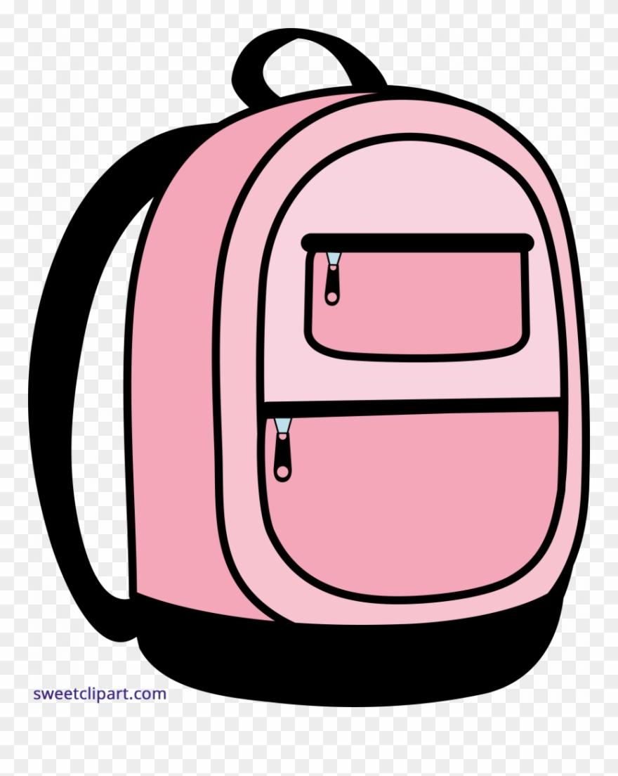 download backpack clip art - back pack clip art - png download (#3451125) -  pinclipart  pinclipart.