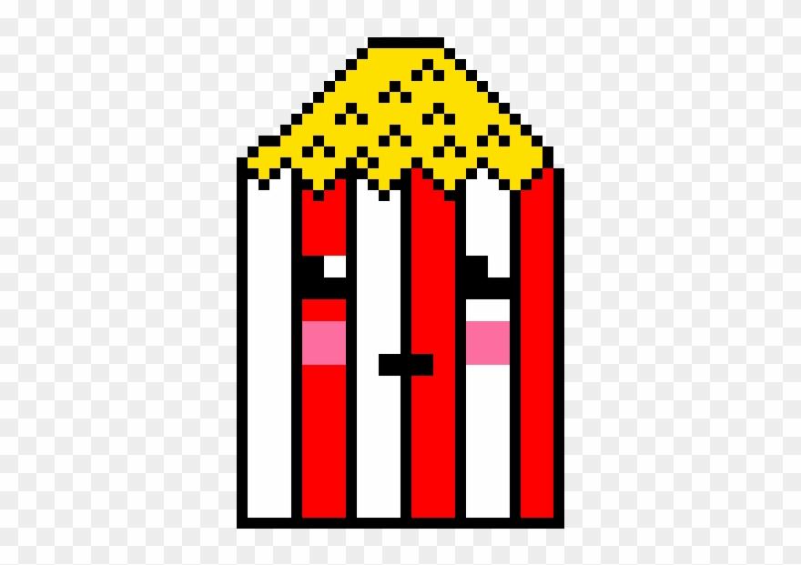 Popcorn kawaii. Illustration clipart pinclipart
