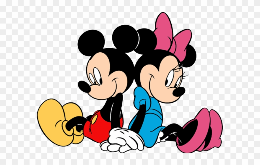 Minnie Mouse Clipart Hands Mickey And Minnie Png Transparent Png