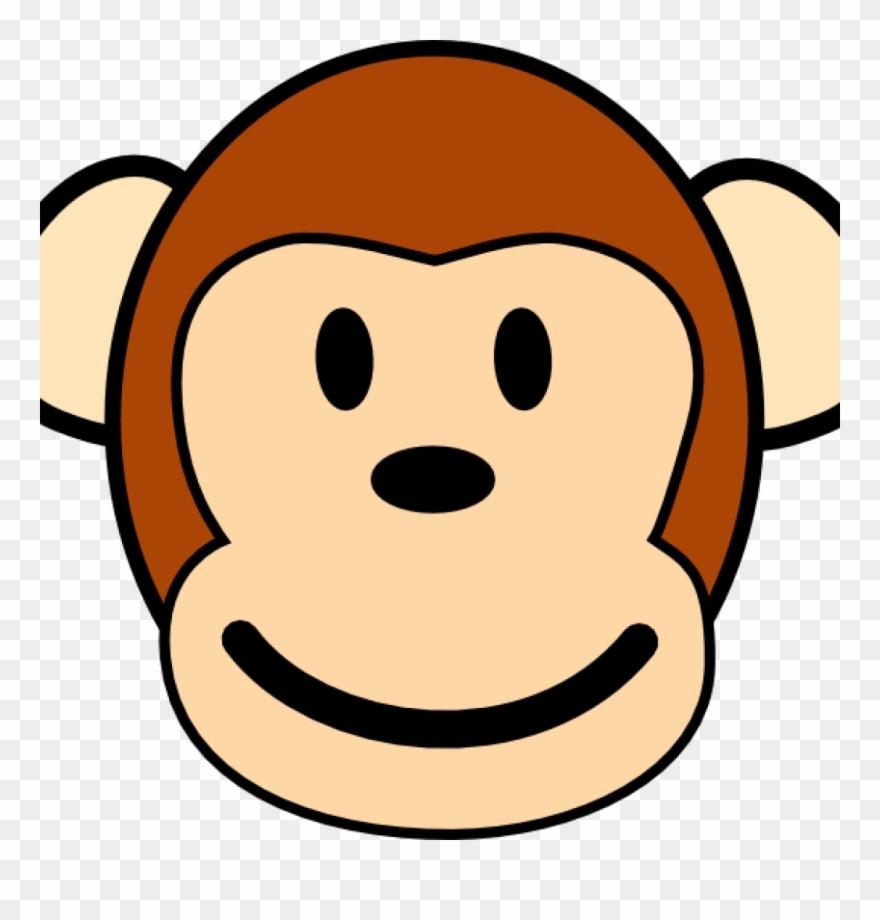 Monkey Face Drawing Cute Ba Cartoon Monkey Drawings Monkey Clip Art Png Download 3460811 Pinclipart
