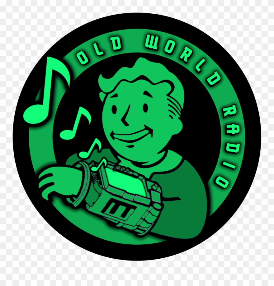 Owr Logo World Radio, Old World - Fallout 3 Clipart (#3463677