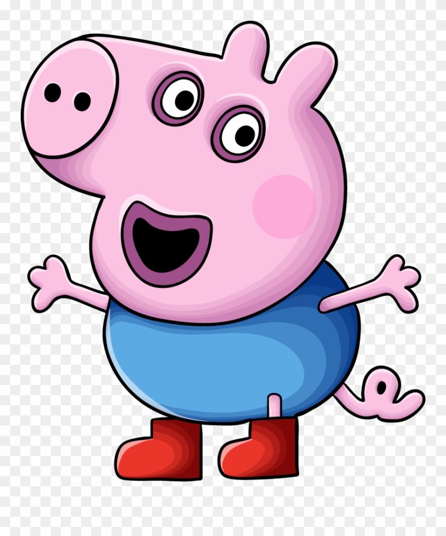Peppa Pig Characters - Cartoon Superhero Easy To Draw