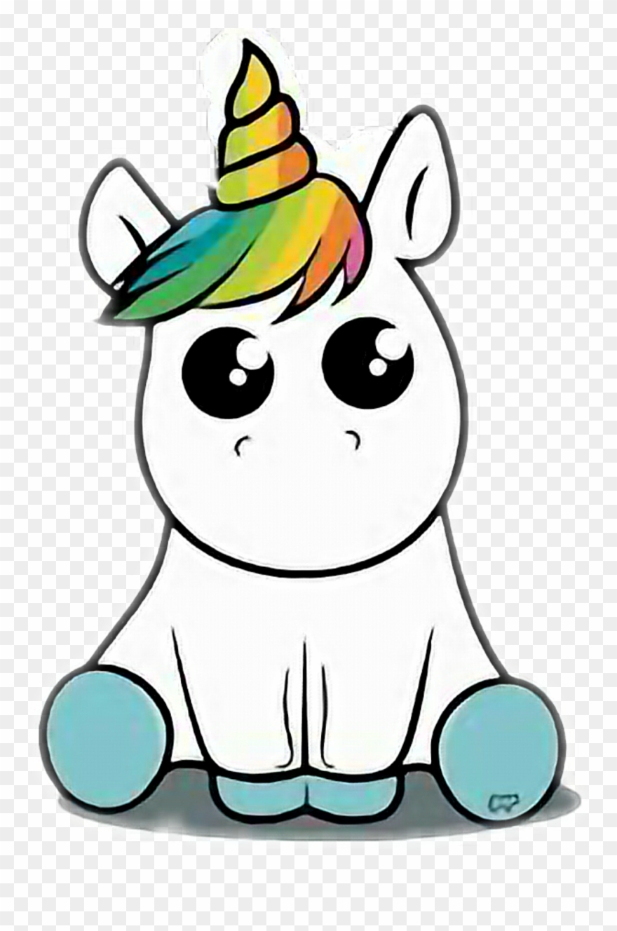 Unicornio Sticker Dibujos De Escandalosos Para Dibujar Clipart