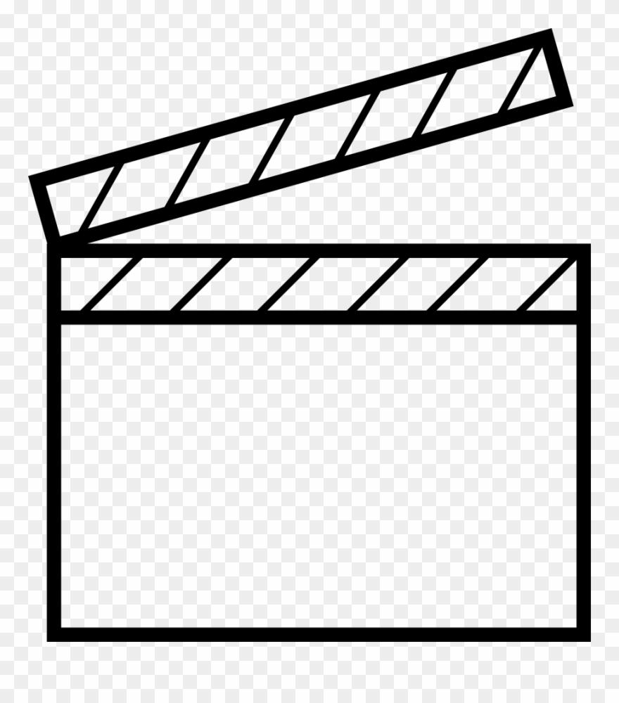 Png File Svg Simbolo De Cine Para Colorear Clipart 3471633