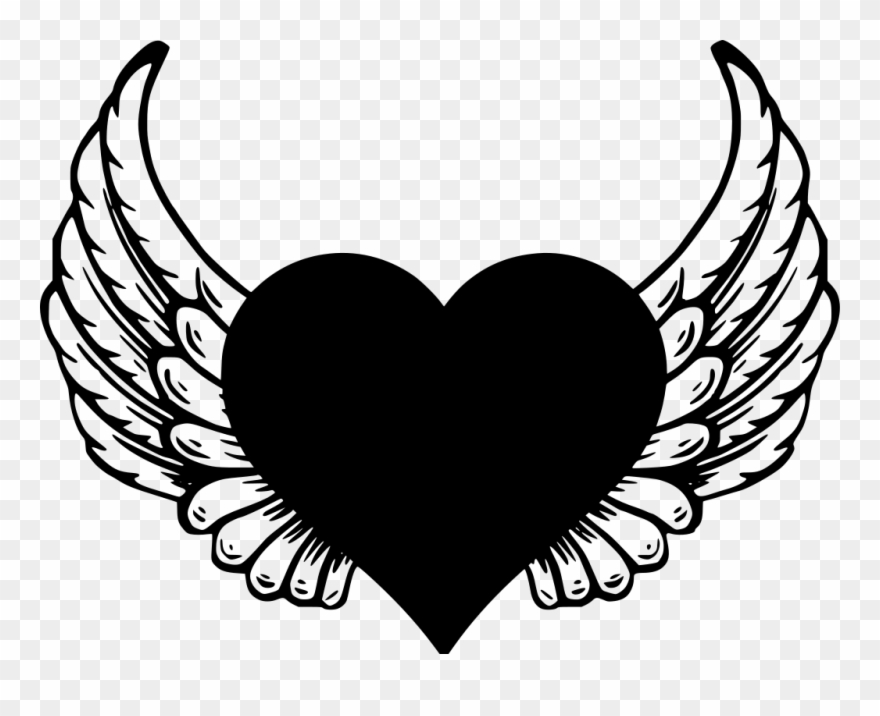 Angel Wings Png Download Angel Wings Png Outline Clipart 3482187 Pinclipart