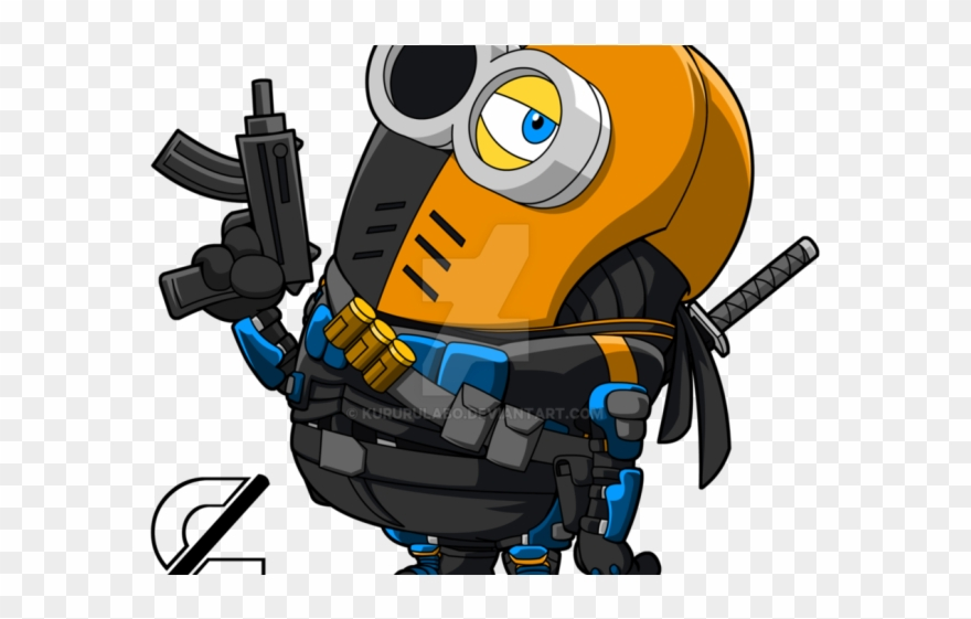 Deathstroke Clipart Minion Cartoon Png Download 3482621 Pinclipart
