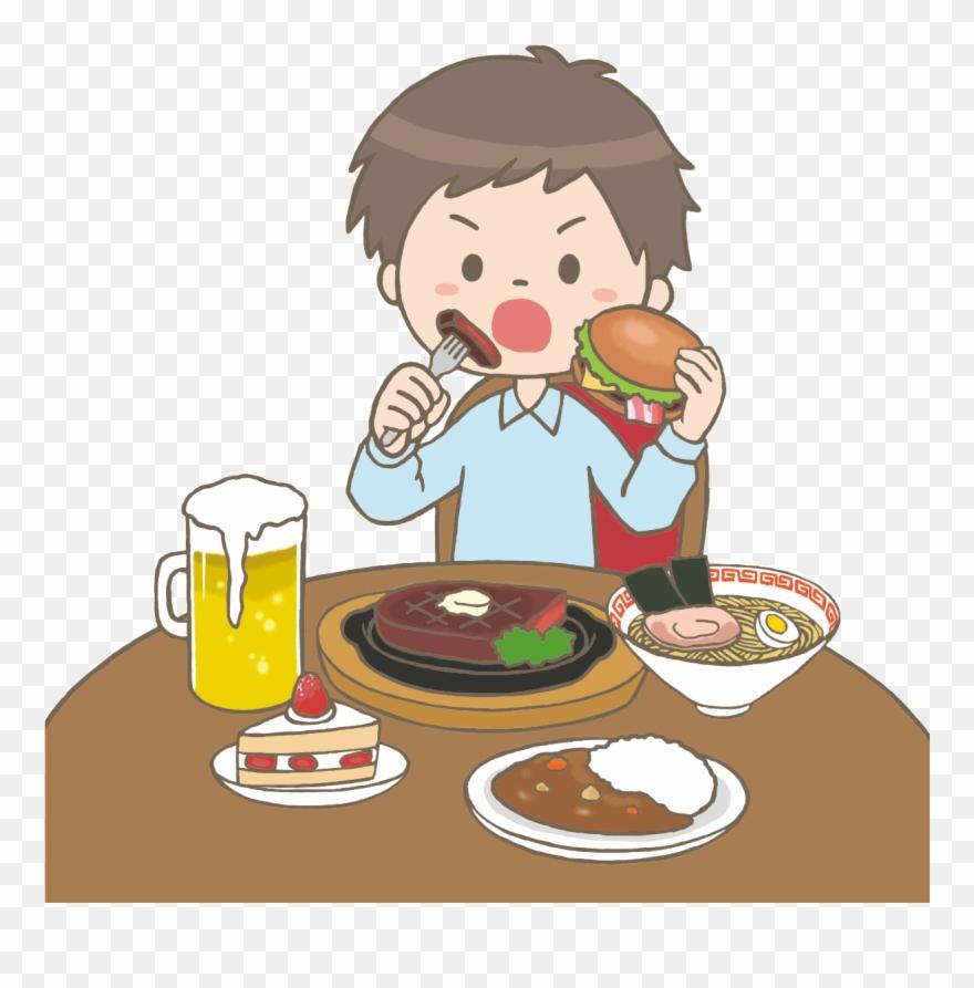 食べ てる イラスト フリー 素材 Clipart 3483347 Pinclipart