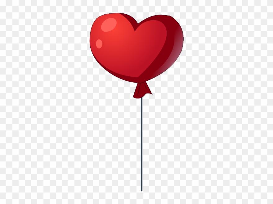 Coeur Png Ballon En Forme De Coeur Png Clipart 3486073