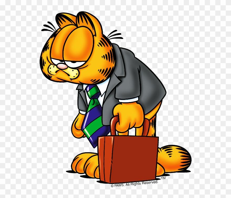 Garfield Png Good Morning Monday Cartoon Clipart 3488973 Pinclipart