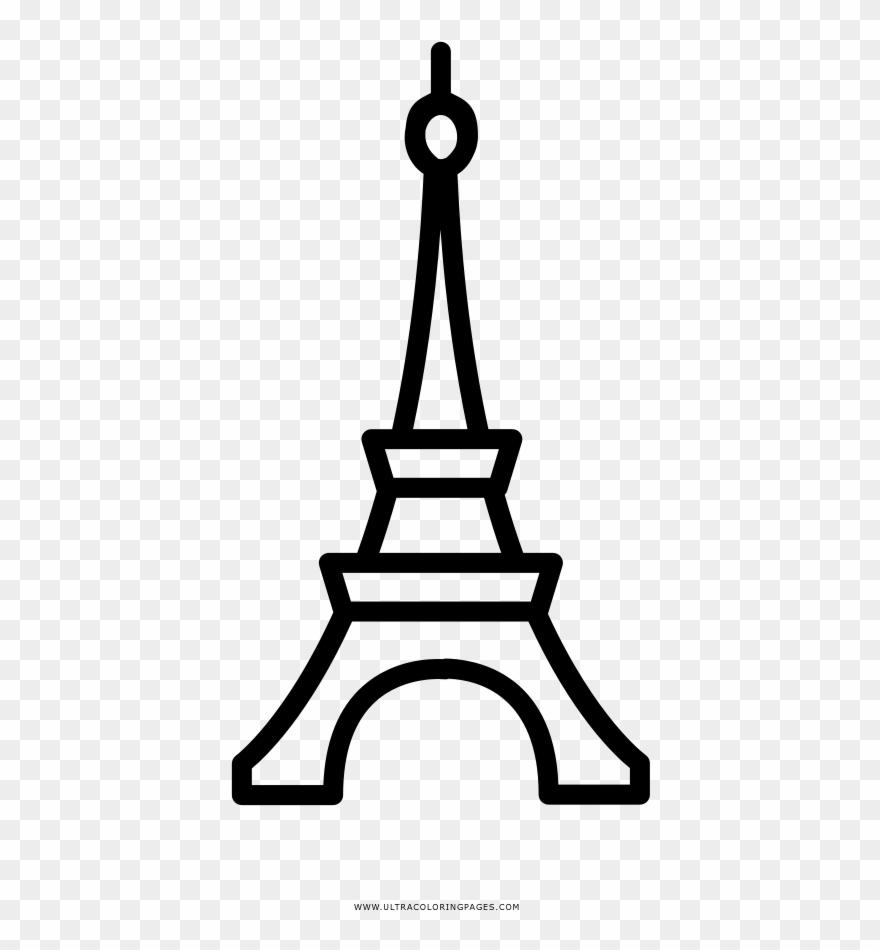 Dibujos Torre Eiffel De Paris Sketch Coloring Page Paris Icon Png Clipart 3489486 Pinclipart
