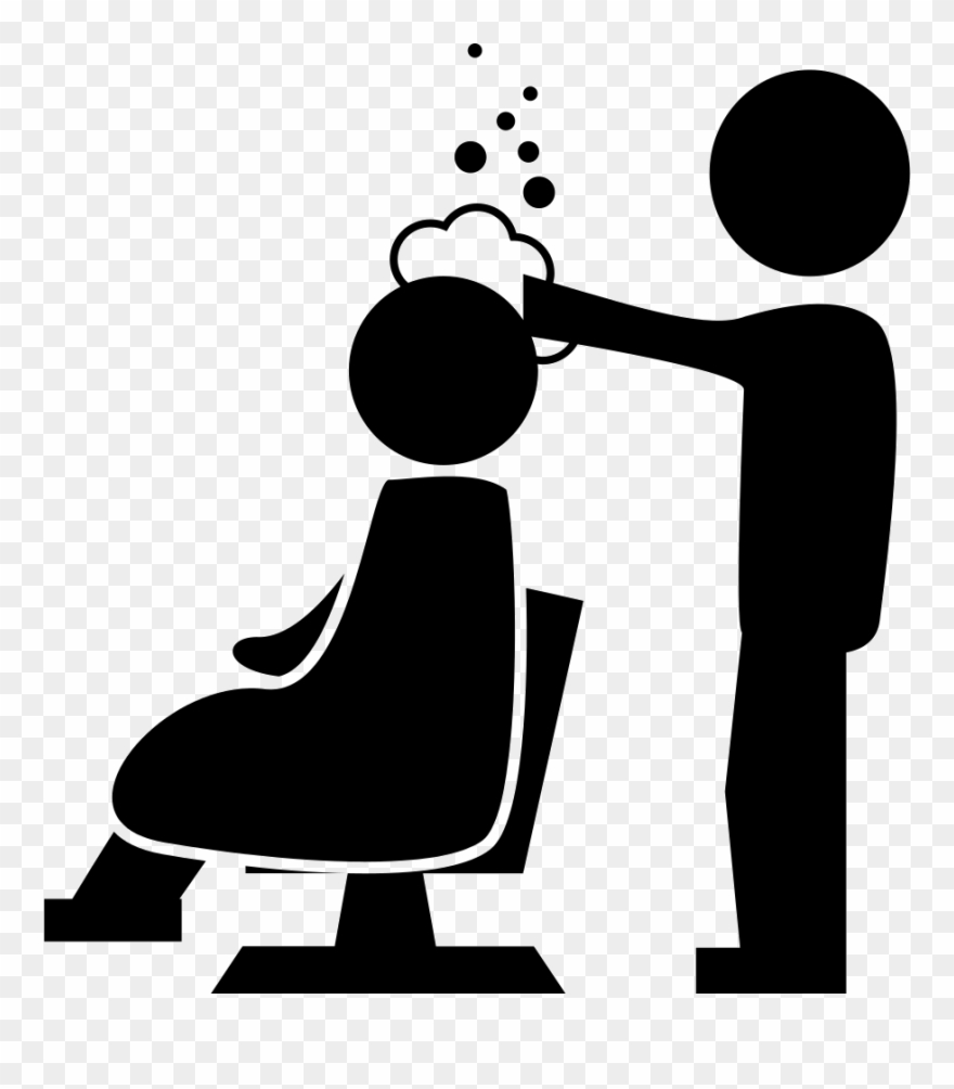 Application In Salon Svg Png Free Download Ⓒ - Hair Salon Icon Png Clipart
