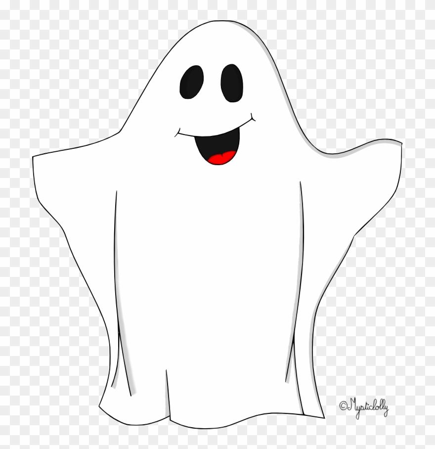 Comptines Et Chansons D Automne Fantome Halloween Dessin Couleur Clipart 3494387 Pinclipart