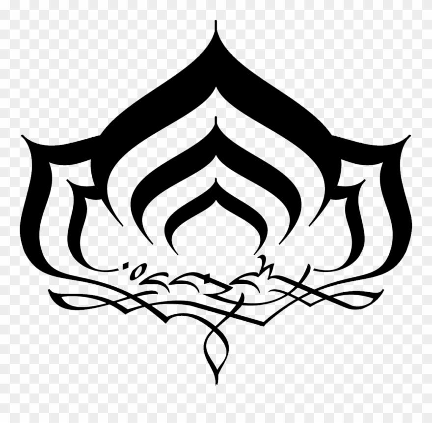 Lotus Clipart Yoga Symbol Warframe Logo Png Download 353036