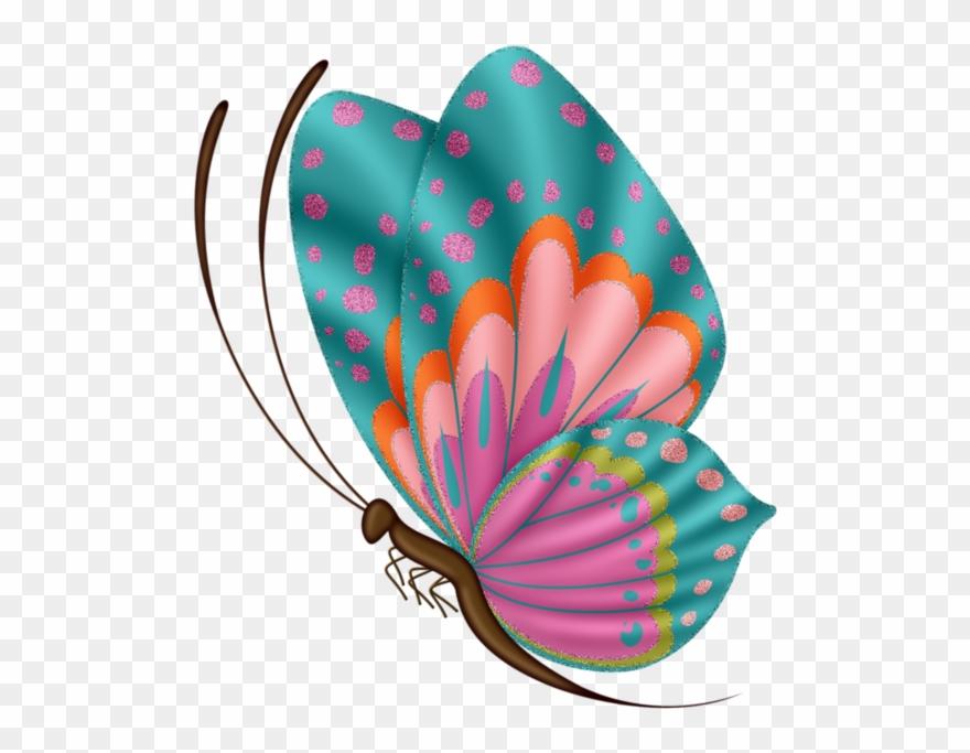 Papillons Clipart 353302 Pinclipart