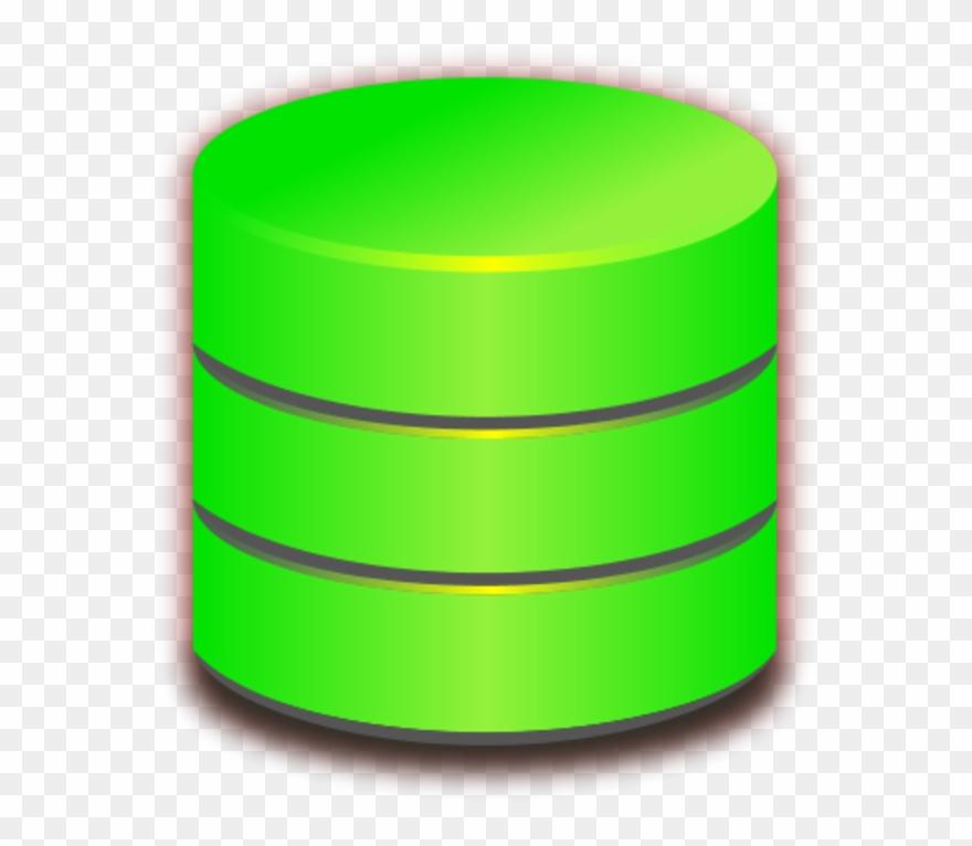 Blue Database Vector Clip Art - Database - Png Download