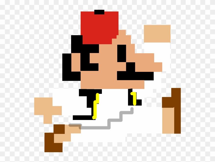 Pixel Art Super Mario Bros Nes Sprite Clipart 3501868