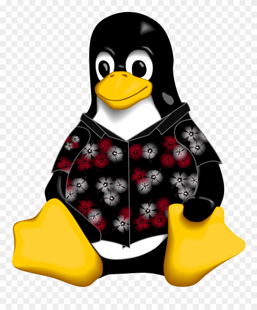 Tux Sticker , Png Download - Linux Gift Clipart (#3502073