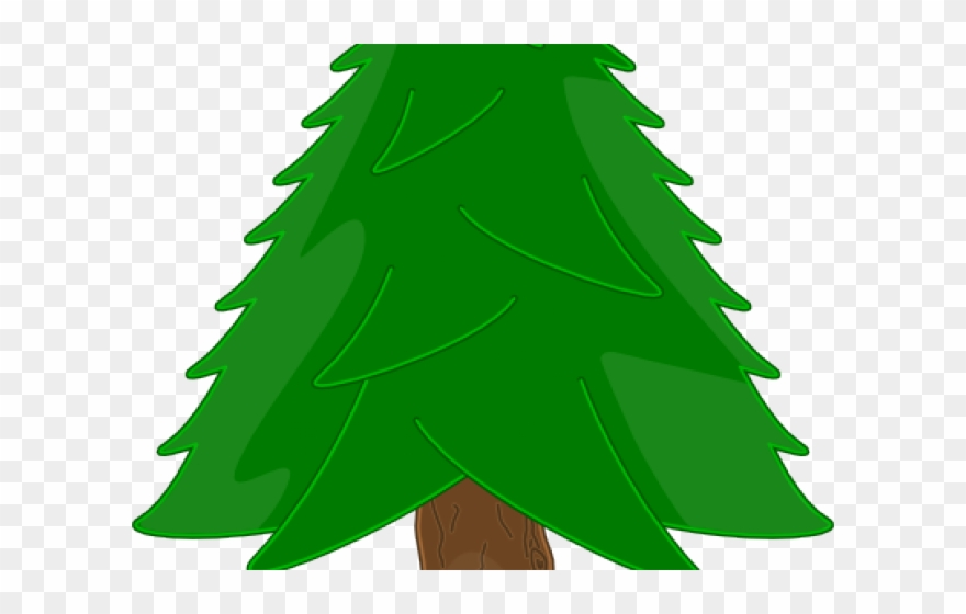 Bare Christmas Tree Svg.Fir Tree Clipart Bare Christmas Tree Clip Art Simple Png