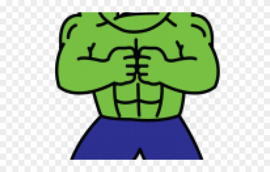 Hulk Clipart Easy Cartoon Drawing Png Download 3511705