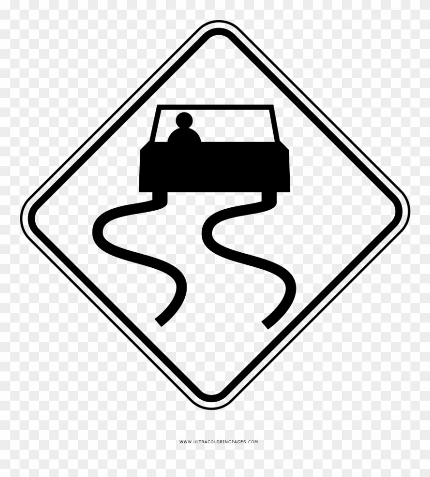 Coloring Pages Traffic Signs - Coloring Home | 976x880