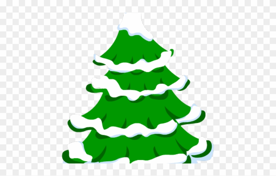 Christmas Tree Clipart Png.Fir Tree Clipart Snow Covered Tree Christmas Tree With