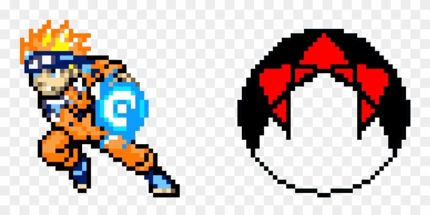 Naruto Pixel Art Minecraft Naruto Clipart 3533397