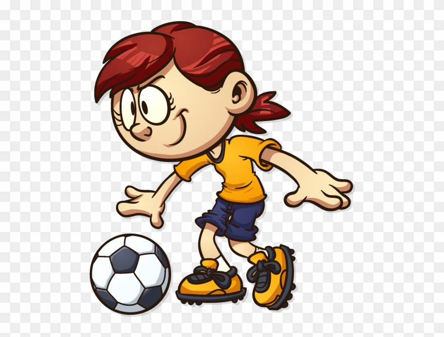 Our Sessions Drawing Of Kids Playing Soccer Clipart 3533645 Pinclipart