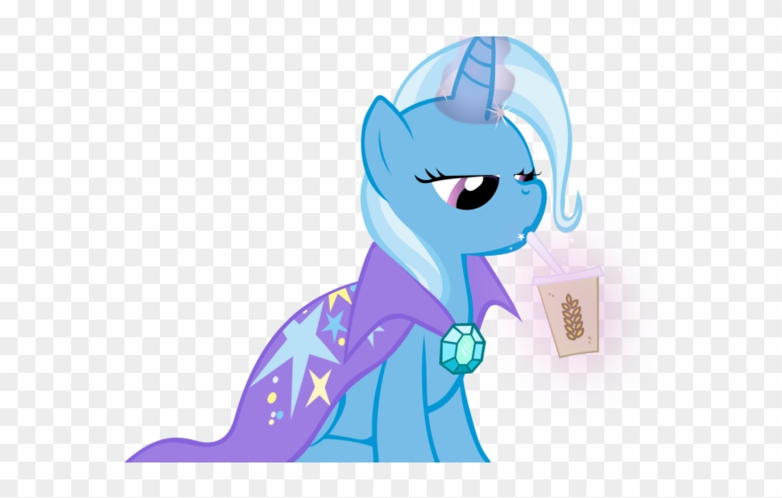 Smoothie Clipart Mlp Mlp Trixie Magic Aura Png Download