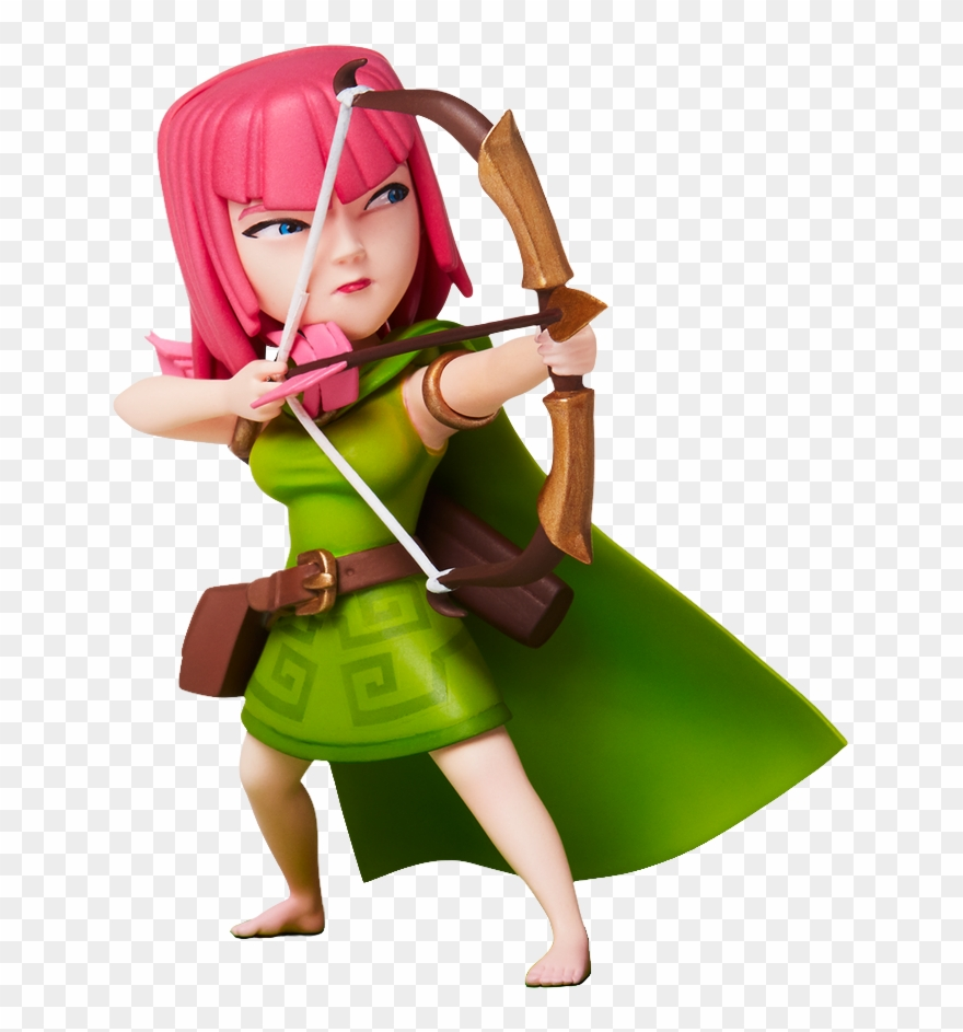 Free Icons Png Archer Clash Royale Png Clipart 3538499