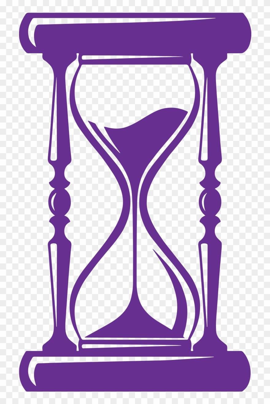 Coming Of Age Siluetas De Reloj De Arena Clipart 3539172
