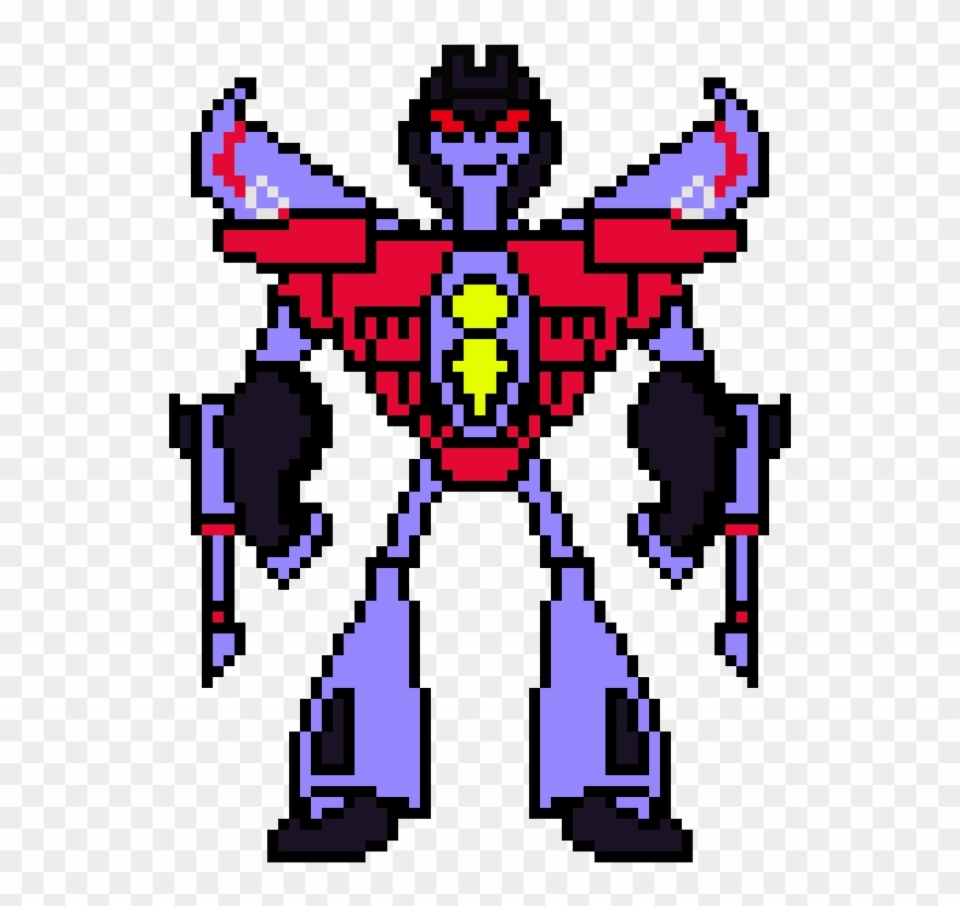 Transformers Animated Starscream Minecraft Transformer
