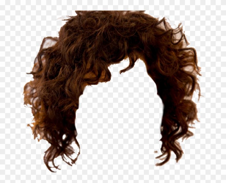 Hellhäutiges lockiges Haar