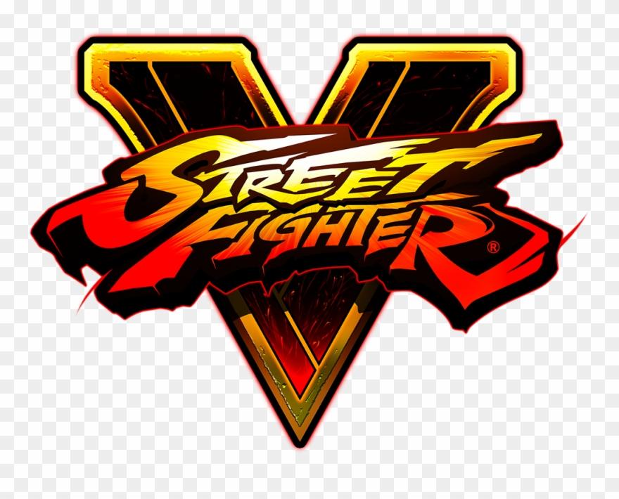 Street Fighter V Street Fighter V Logo Png Clipart 3548681