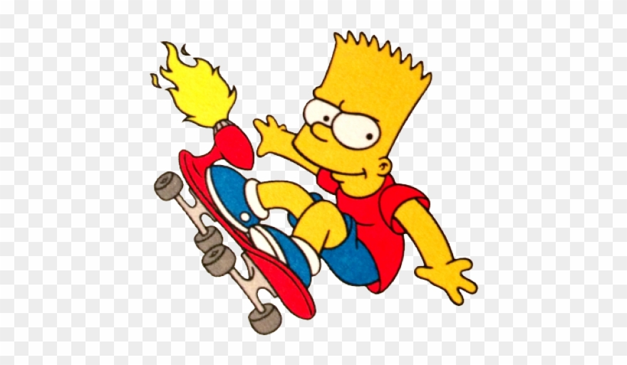 Bart Simpson Clipart Cute Bart Simpson Gif Png Transparent Png 3554285 Pinclipart