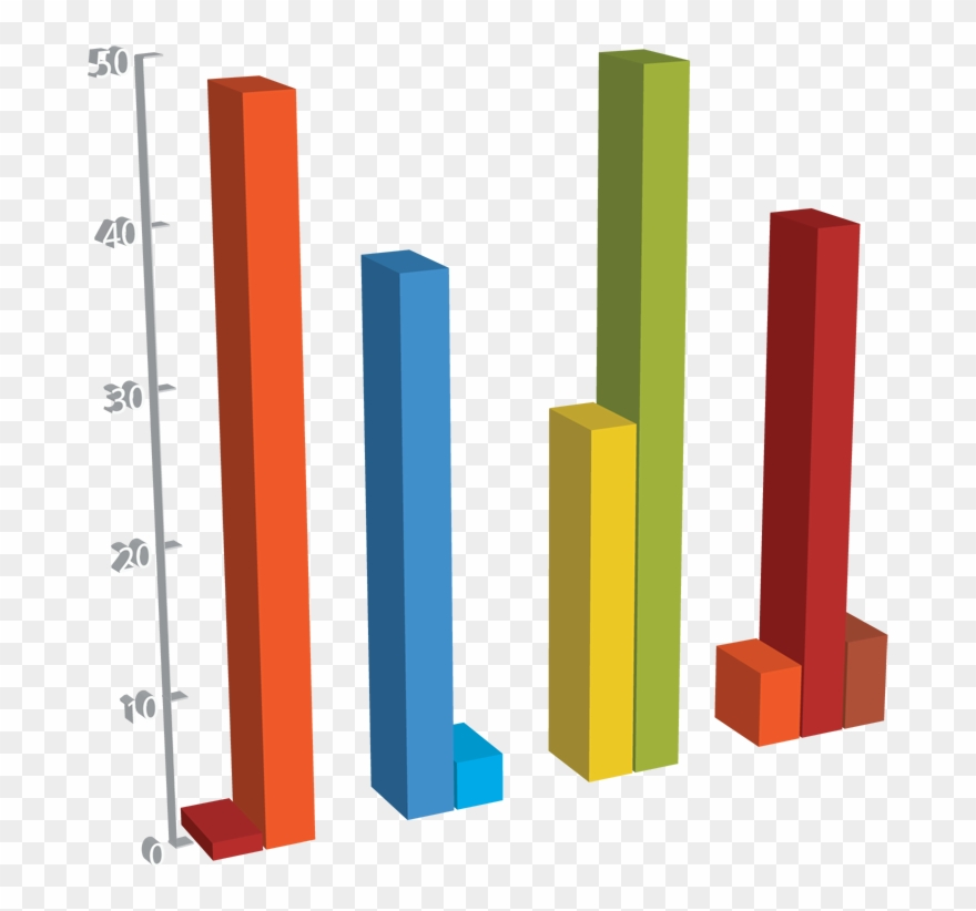 3d Bar Graph Png - Architecture Clipart (#3554862) - PinClipart