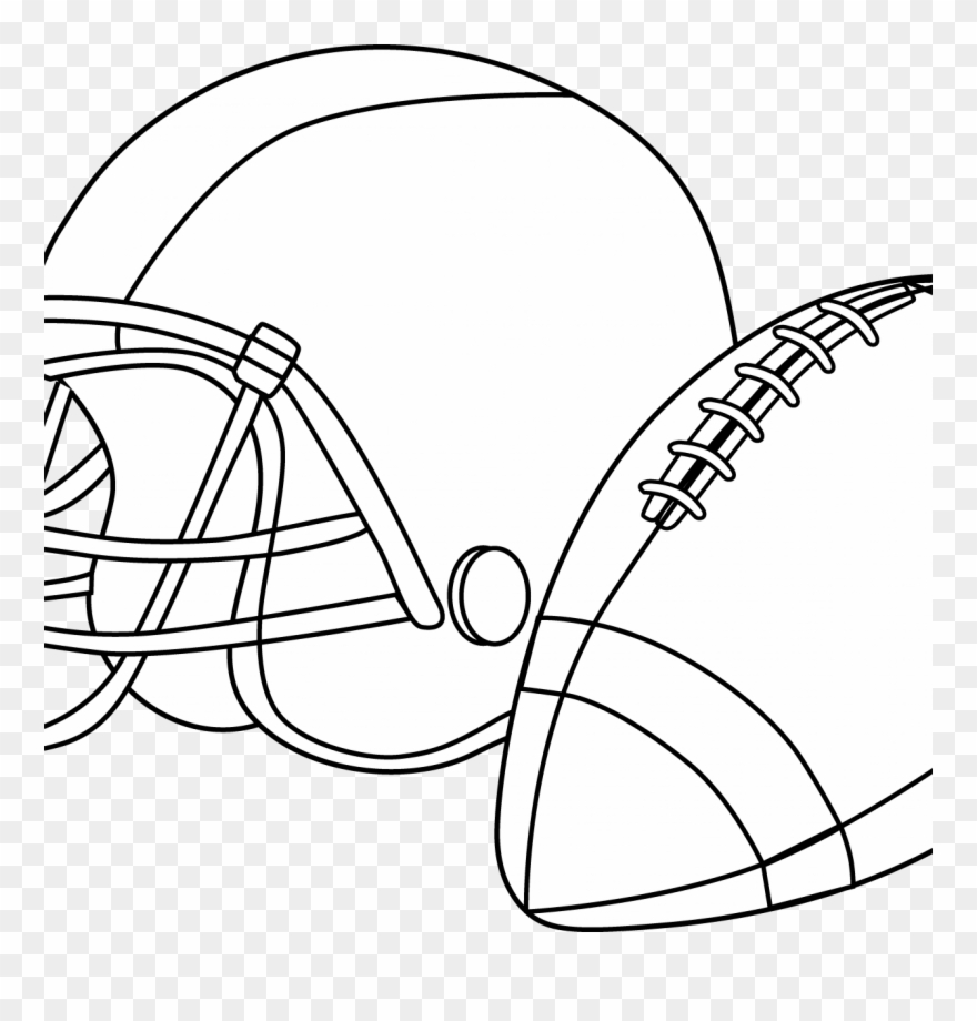 - Football Helmet Coloring Pages Preschool Denver Broncos - Free