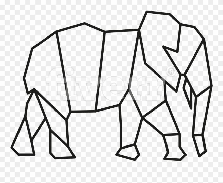 Simple Geometric Animals Geometric Pictures Animal Easy